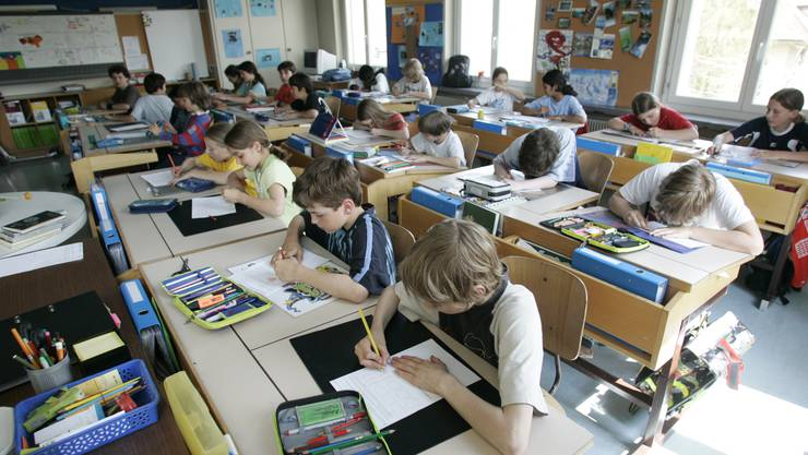 Vor den Herbstferien haben alle Drittprimeler der Bildungsraumkantone den gleichen Test in Mathematik und Deutsch ausgefüllt.