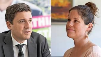 Herausforderer: Mathias Zopfi will in den Ständerat, Priska Grünenfelder kandidiert für den Nationalrat.