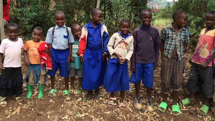 Der Schulbesuch in Ruanda offenbarte vor allem eines: die Dankbarkeit der Kinder.