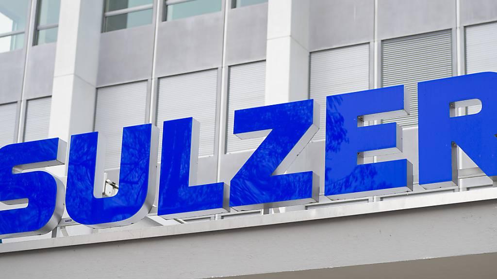 Sulzer füllt im dritten Quartal seine Orderbücher wieder stärker