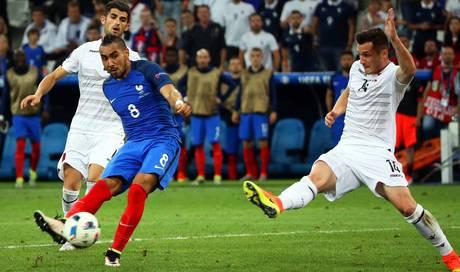 Fussball Frankreich Albanien