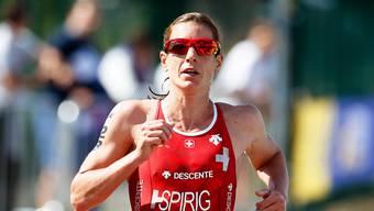 Nicola Spirig gewann mit dem Mixed-Team Silber