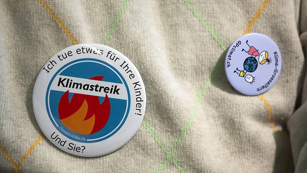 Deutschschweizer und Tessiner Klimastreikende sind für CO2-Gesetz