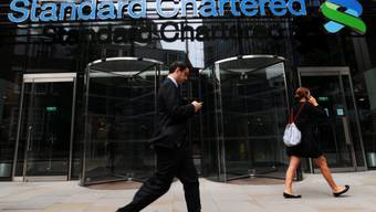 Die Standard Chartered Bank in London (Archiv)