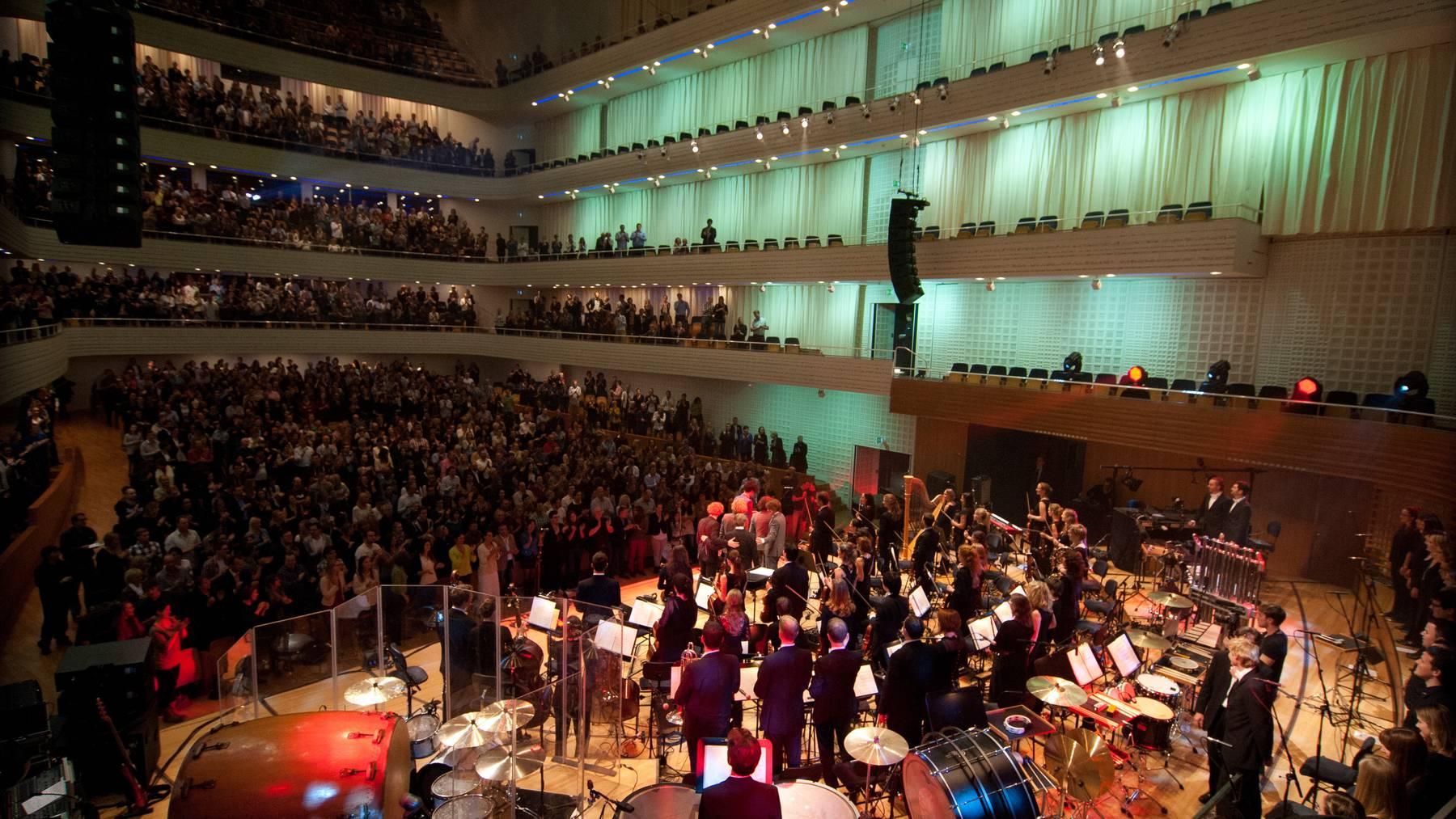 Pegasus & 21st Century Orchestra im KKL Konzertsaal