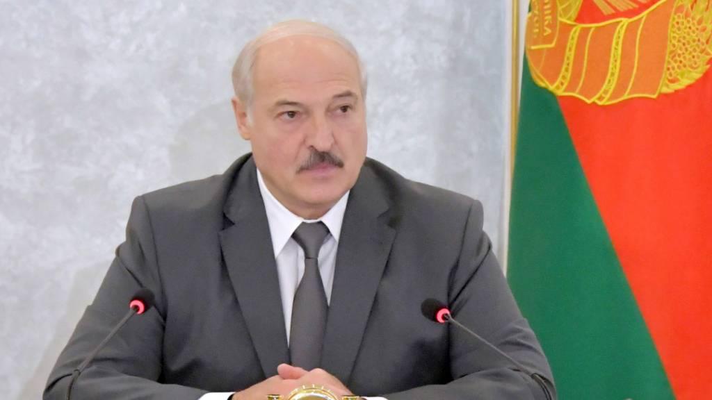 Darf nicht mehr in die Schweiz einreisen: der belarussische Machthaber Alexander Lukaschenko. (Archivbild)