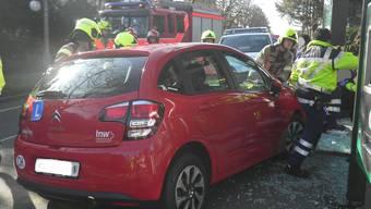Der Unfall der Lernfahrerin passierte am Samstagmorgen.
