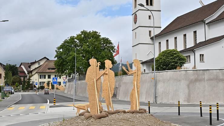 Die Einwohner von Obergösgen freuen sich auf die Kunstobjekte.