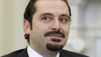 Libanons Premierminister Saad Hariri (Archiv)