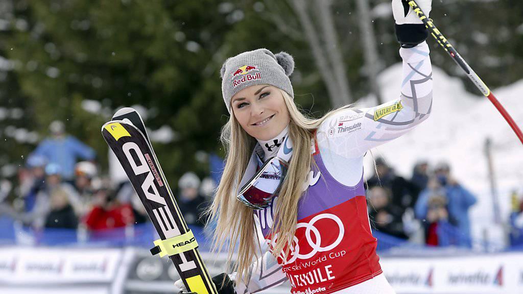 Lindsey Vonn kehrt bereits dieses Wochenende in den alpinen Ski-Zirkus zurück