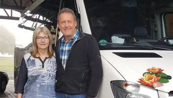 Christian Merz mit Ehefrau Barbara.