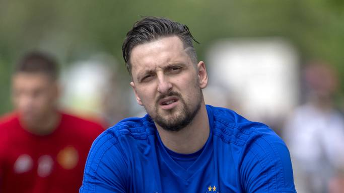 Zdravko Kuzmanovic verletzte sich im Training an der Achillessehne.