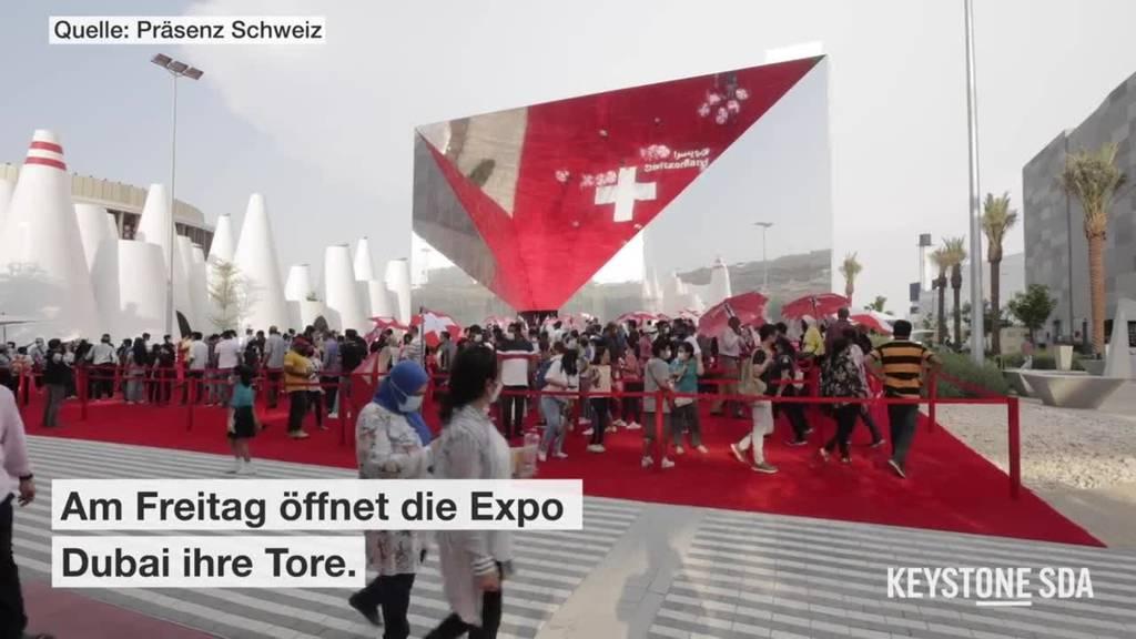 So präsentiert sich die Schweiz an der Expo