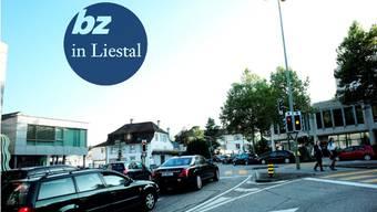 Die neue durchgängige Kantonsstrasse wird über die Rheinstrassen-Kreuzung führen, soll sie aber nicht noch mehr belasten.