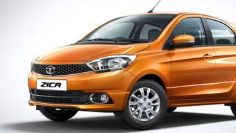 Da hiess es noch Zica: Das neueste Modell des indischen Autoherstellers Tata Motors. (Archivbild)