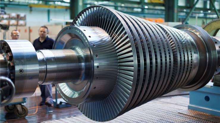 Arbeitsplätze bei General Electric bleiben unsicher: Mitarbeiter am Standort in BirrAGGaetan Bally/Keystone