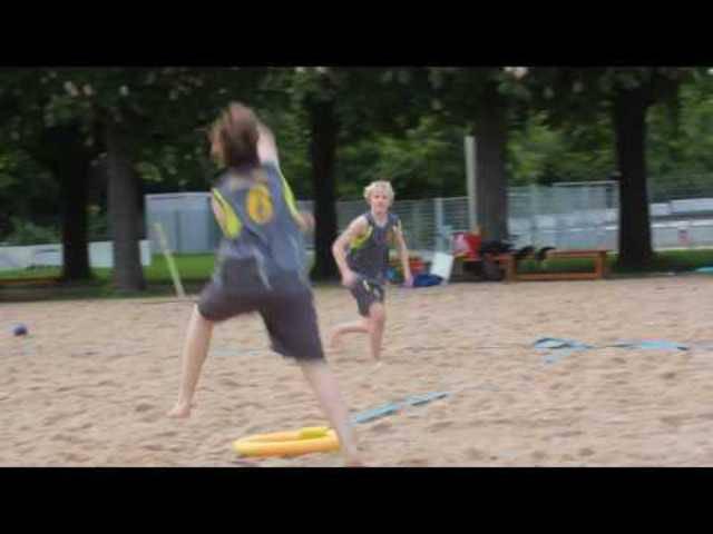 TV Birsfelden: Copaca Bale Junioren (TVB/GTV) Beachhandball Training