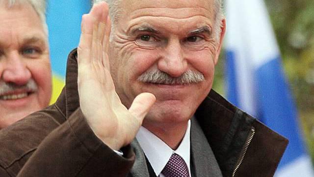 Papandreou gibt EU Mitschuld am Finanzdesaster (Archiv)