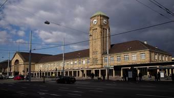 Beim Badischen Bahnhof Basel werden zwei neue Gleise der Deutschen Bahn angebunden.