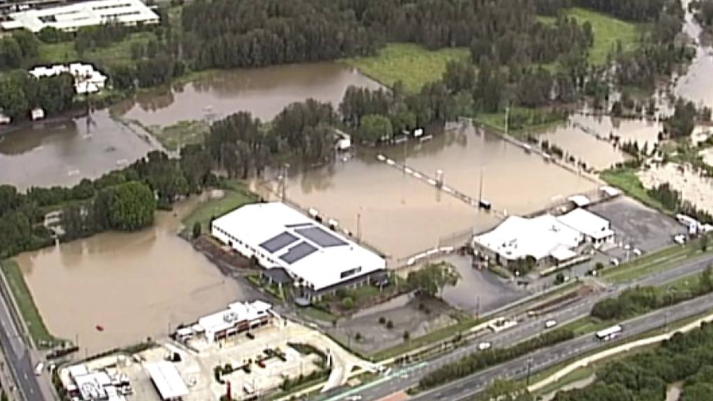 Verrückt: Jetzt kämpft Australien mit Überflutungen