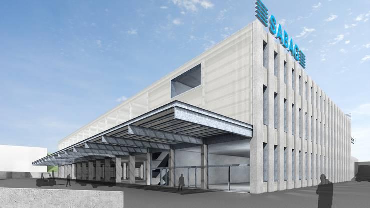 Bis Ende 2018 soll das neue Lager- und Logistikzentrum von Sabag in Füllinsdorf fertiggestellt sein.
