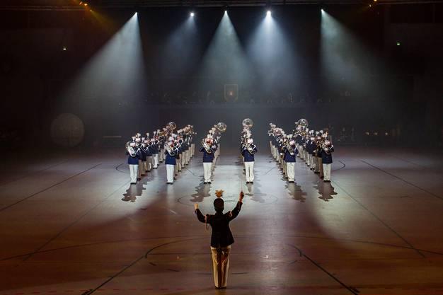 Der Musikverein Bubendorf on stage