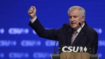 Seehofer am CSU-Parteitag