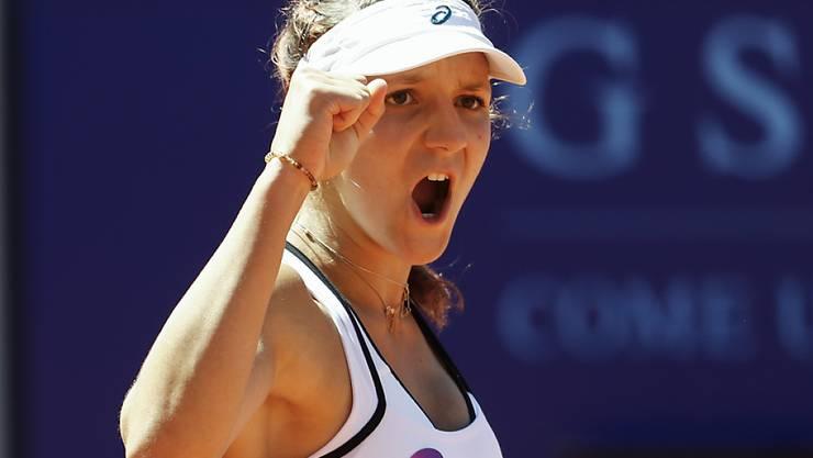 Nächstes Sommermärchen in Gstaad? Die 17-jährige Baslerin Rebeka Masarova darf auch 2017 am WTA-Turnier im Berner Oberland teilnehmen