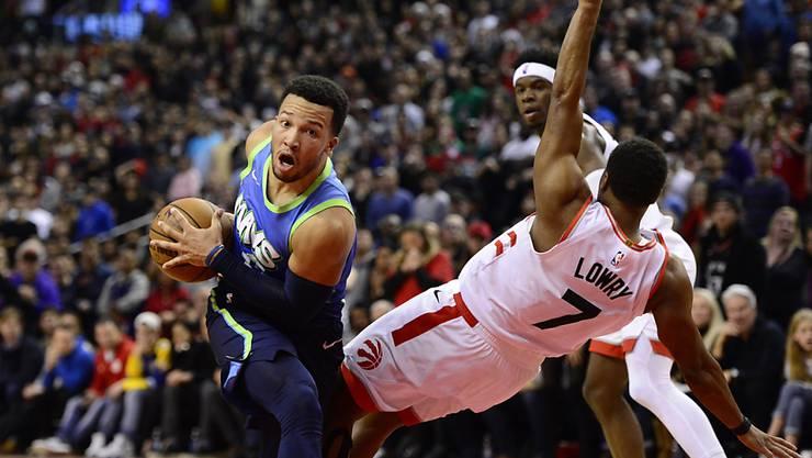 Die Toronto Raptors mit Kyle Lowry boten gegen die Dallas Mavericks ein Spektakel