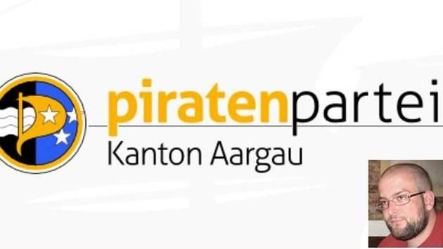 Die Piratenpartei Aargau wird von Stefan Ott präsidiert und hat sich diese Woche von der Piratenpartei Schweiz politisch abgekoppelt. – Quelle: pd