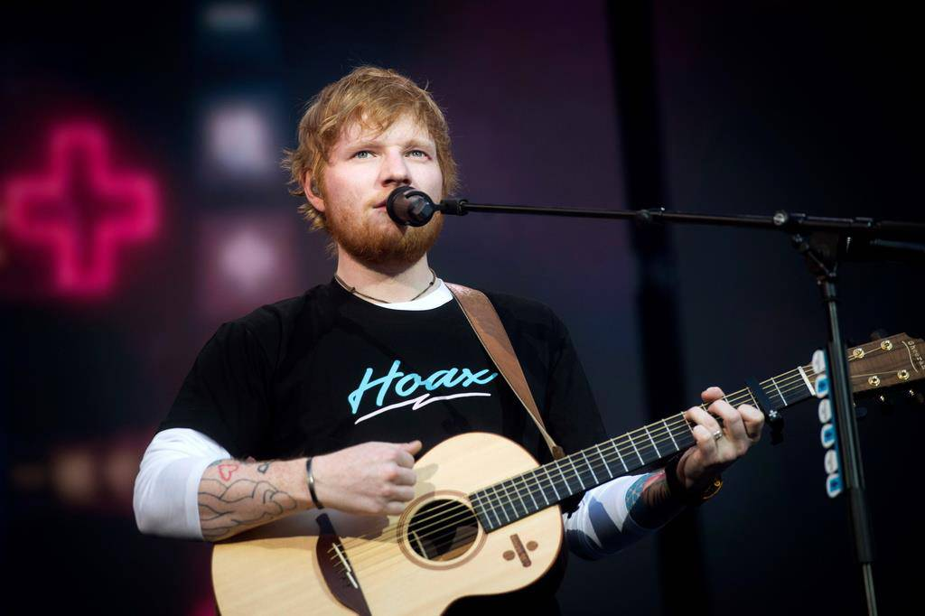Ed Sheeran (© Keystone/Getty Images)