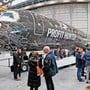Als «Jäger des Profits» bewirbt der brasilianische Flugzeughersteller seinen grössten Regionaljet. Ob die Helvetic den Typ kauft, ist offen.