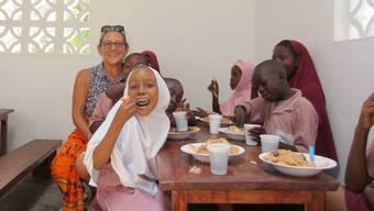 Rita Gigliotti hilft in Kenia