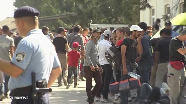Flüchtlinge machen Schlagzeilen