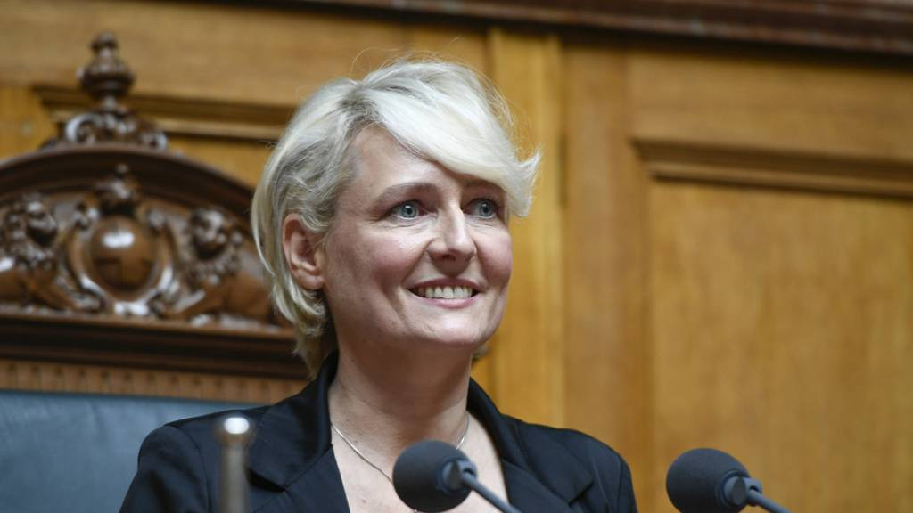Freisinnige Isabelle Moret übernimmt Nationalratspräsidium