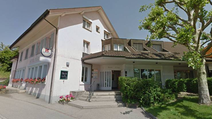 Das Hotel Platanenhof in Frick