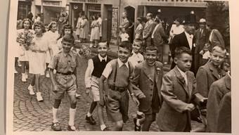 Historische Bilder vom Jugendfest Lenzburg