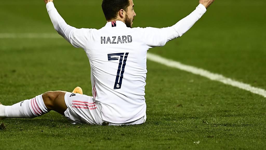 Eden Hazard fällt wieder aus