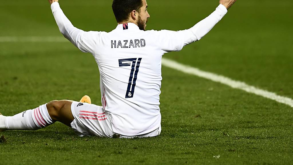 Eden Hazard hat bei Real Madrid sein Glück noch nicht gefunden