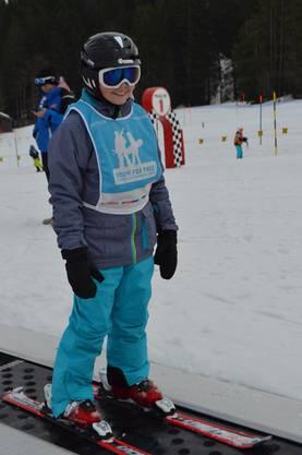 Maria Giovanna stand nicht das erste Mal auf den Ski.