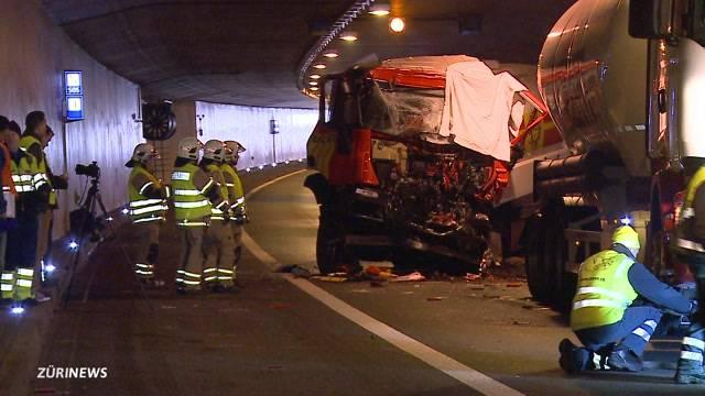 Lastwagen-Chauffeur stirbt bei schwerem Unfall auf A3
