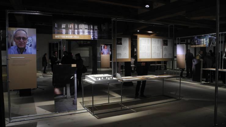 Ein Blick in die erste Sonderausstellung im Museum Altes Zeughaus. «Making off ...» widmet sich dem Umbau und der Innensanierung.