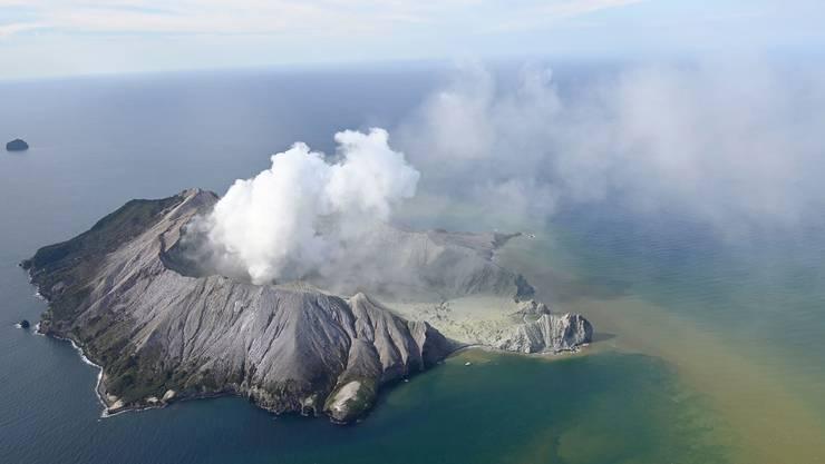 In Neuseeland sind am Montag zahlreiche Touristen von einem plötzlichen Vulkanausbruch überrascht worden.