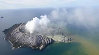 Vulkanausbruch auf White Island (Neuseeland)