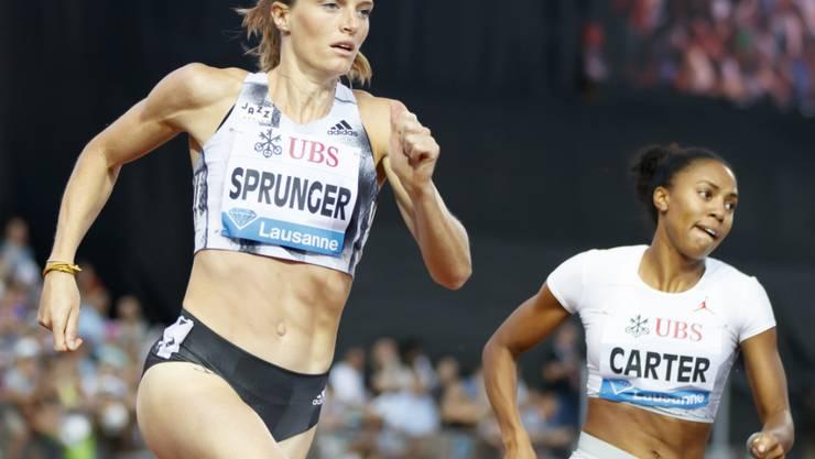 Lea Sprunger bleibt in Monaco hinter ihren Erwartungen zurück