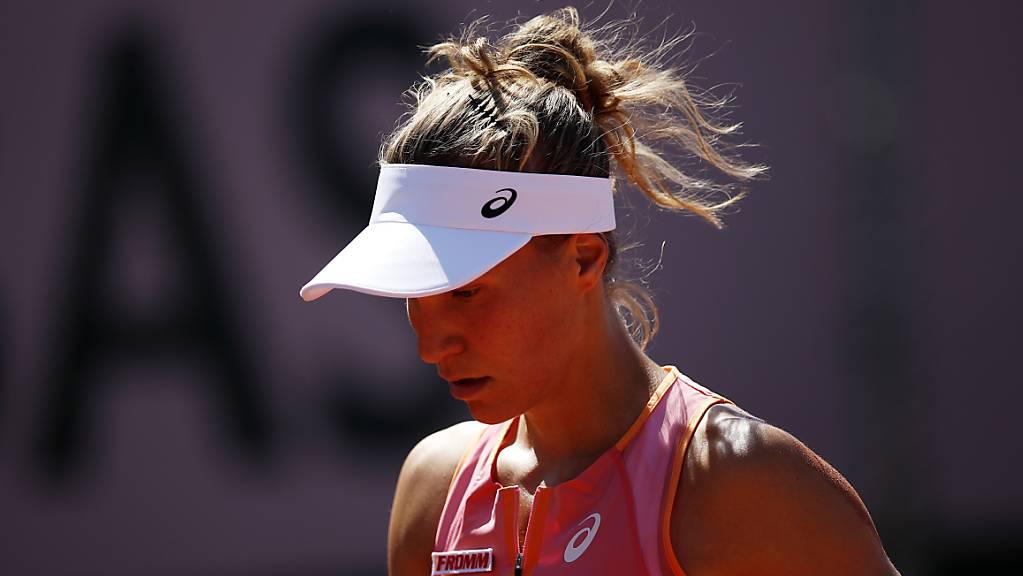 Viktorija Golubic unterlag in der 1. Runde der Einheimischen Heather Watson.