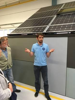 Innivativ: Solarzellen als Gebäudehüllen