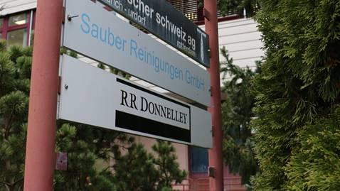 Bei RR Donnelley in Urdorf werden die Steuerdaten digitalisiert.