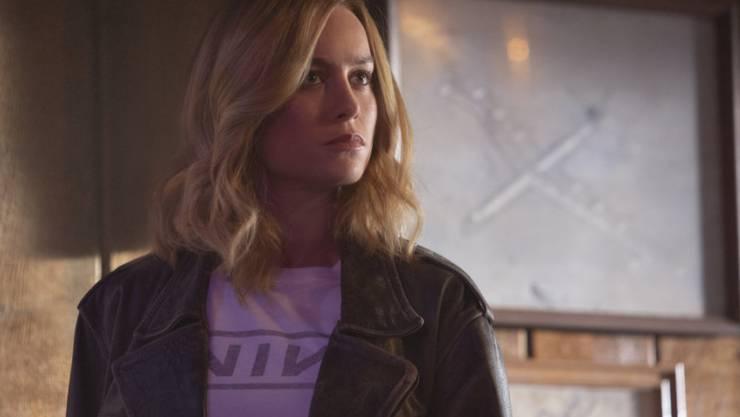 """Der Actionfilm """"Captain Marvel"""" mit Brie Larson setzte sich am Wochenende vom 8. bis 10. März 2019 in Nordamerika an die Spitze der Kinocharts. (Archiv)"""