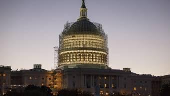 Das Kapitol in Washington ist der Sitz des US-Kongresses (Archiv)